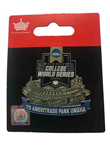 aminco 2019 Men's College World Series CWS TD Ameritrade Park Omaha Lapel Pin