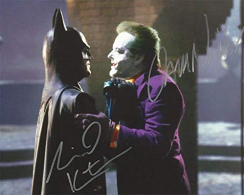 TIM BURTONS BATMAN 1989 Signed REPRINT 8x10 inch photograph for sale  Delivered anywhere in USA