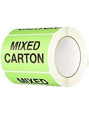 "TapeCase""Mixed Carton"" Label - 50 per Pack (1 Pack)"