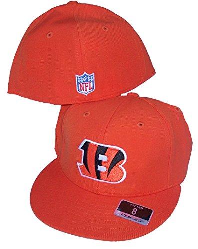 ed152ca8b Cincinnati Bengals Flat Bill Hats. Cincinnati Bengals Fitted Size 7 Hat  Flat Brim NFL Authentic Cap