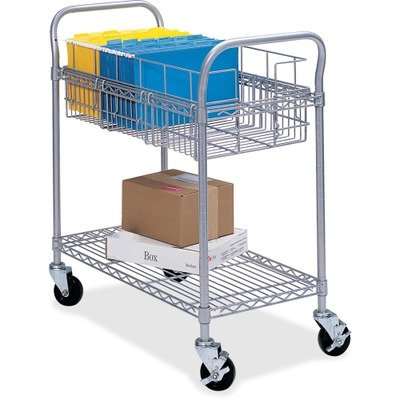 SAF5235GR - Safco Wire Mail Cart