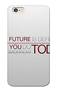 Ellent Design Future Today Phone Case For Iphone 6 Premium Tpu Case For Thanksgiving Day's Gift