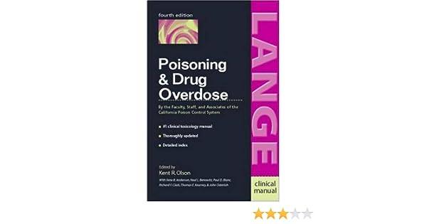 Poisoning drug overdose 0639785501039 medicine health science poisoning drug overdose 0639785501039 medicine health science books amazon fandeluxe Image collections