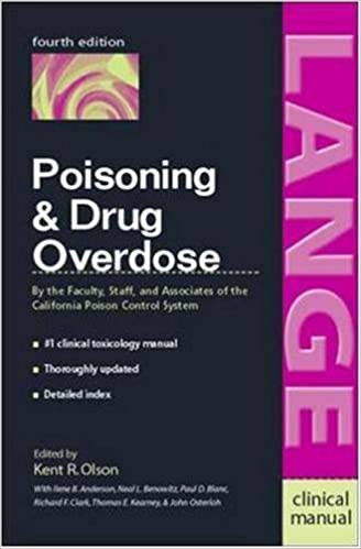 Poisoning drug overdose 0639785501039 medicine health science poisoning drug overdose 4th edition fandeluxe Image collections