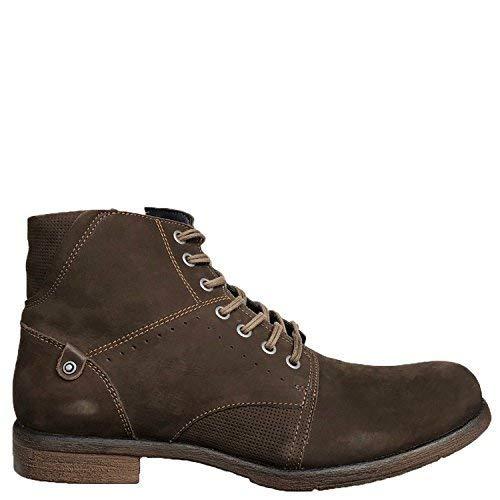 Cherokee Brown Leather - Shop Brunello's Cherokee Boot in Dark Brown- Made in Brazil