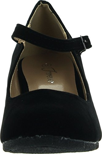 Patricia Black 5 Mary Faux Forever Womens Pumps Strap Suede Link 05 Jane Wedge Suede SPRB4Eqw
