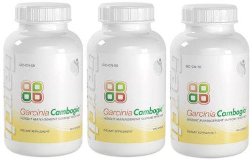 Garcinia Cambogia HCA Perdre du poids avec l'acide hydroxycitrique 800mg par portion 270 Capsules 3 Bouteilles