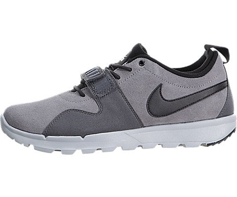 nike SB trainerendor mens trainers 806309 sneakers shoes (US 8.5, cool grey black dark grey 001)