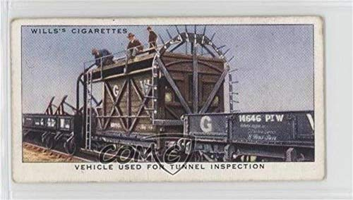 (Vehicle Used For Tunnel Inspection Ungraded COMC Good to VG-EX (Trading Card) 1938 Wills Railway Equipment - Tobacco [Base] #34)