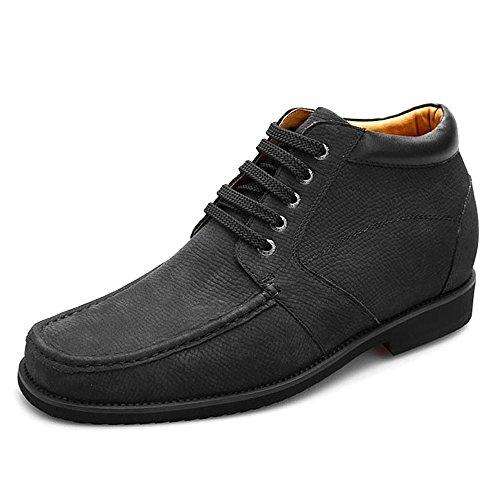 Chamaripa Hauteur Croissante Semelle Chaussures Hommes Occasionnels Bottes De Cowboy Robe Ascenseur Chaussures 3.54 V1931-1
