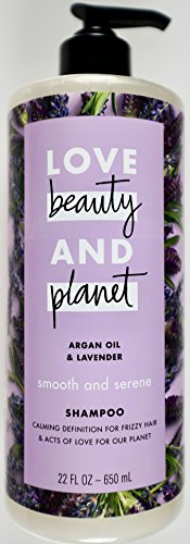 (LOVE Beauty and Planet Argan Oil & Lavender Shampoo, 22 FL OZ)
