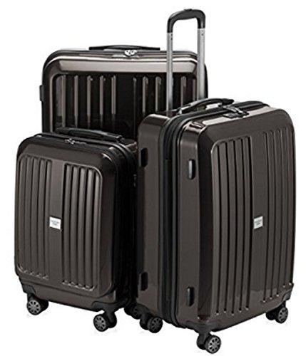 (HAUPTSTADTKOFFER X-Berg Luggages Set Suitcase Set Hardside Spinner Trolley Expandable(20', 24' & 28') TSA Graphite)