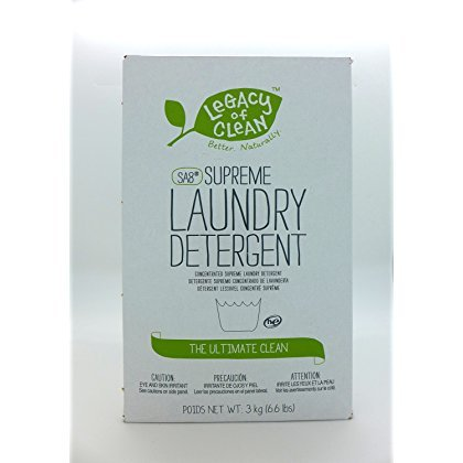 Legacy of Clean SA8 Supreme Laundry Detergent - Powder