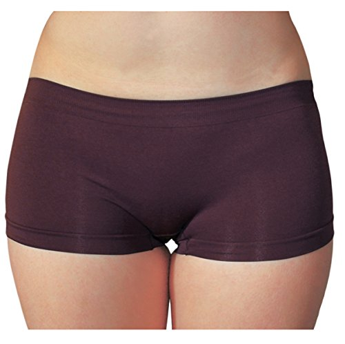 Yoga Boy Short (KMystic Seamless Hot Shorts Boy Short One Size (Brown))