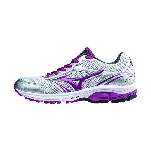 Viola Sneaker Argento Scarpa Running Mizuno 3 Donna Impetus Wave qE0qFx