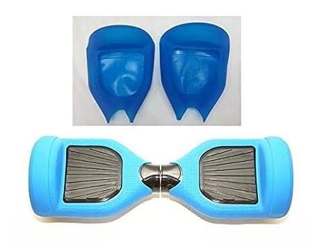 Blue Flexible de Silicona Cubierta de la caja Protectora 6,5 Pulgadas Smart Self Balancing Patinete Eléctrico Scooter