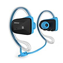 Bsports Bluetooth 4.0 Wireless Sports Music Stereo Waterproof Swimming Bike Headsets Headphone Earphone With Dual Microphone for iPhone, Samsung, Motorola, LG, Nokia, iPad, iPod, HTC, PC, PSP