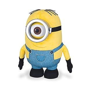 Amazon.com: Minions Huggable Plush - Stuart: Toys & Games