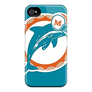 New Arrival Miami Dolphins QKWdUYK7616erFwC Case Cover/ 4/4s Iphone Case