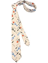 Lovely Item Boy's Skinny Cotton Casual Printed Neck Tie