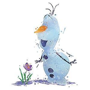 8×10 P17 Frozen Olaf poster.Inspired Watercolor Art Print.Disney frozen Olaf poster.Girls room wall art.Kids Art.Birthday Gift