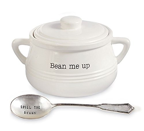 Baked Bean Pot Set, Pot with lid 5 1/2