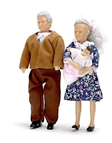 [Town Square Miniature] Town Square Miniatures Dollhouse Miniature Grandparents 00070 [parallel import goods] by Town Square Miniatures