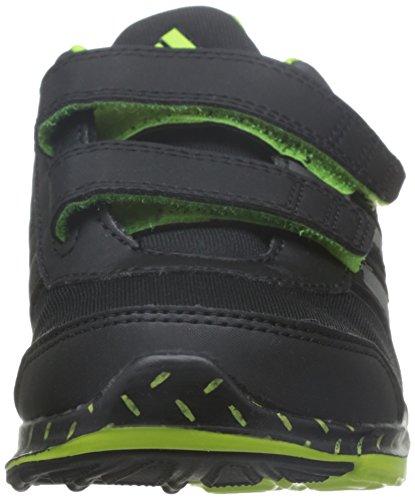 adidas Hyperfast 2.0 Cf K, Zapatillas de Deporte para Niños Negro (Negbas / Hiemet / Amasol)