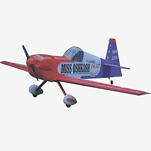 VMAR Cap 232.61-75 2-Stroke 64 Wingspan Balsa (ARF) Plane Kit - ARF Scale Cap 232, Fuel Tank, Spinner, Dual servos, Polycote ESC, Power Module and 5-7 Hours for Assembly