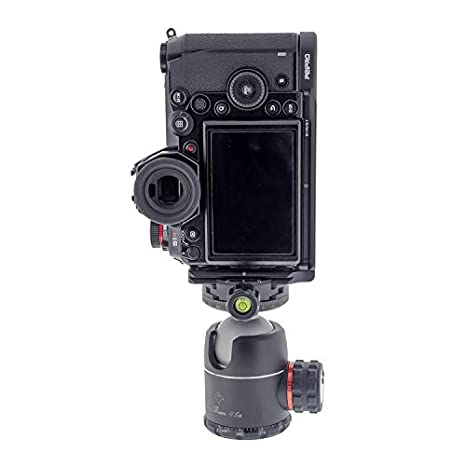 Peipro Aviation Alloy Aluminum Quick Release L-Plate Bracket Camera Hand Grip for S1 S1R L-Plate Cameras