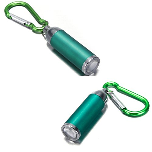 1Pc Apogee Popular Mini Keychain LED Flashlight Micro-Light Pocket Torch Small Gift Color - Excalibur Flask