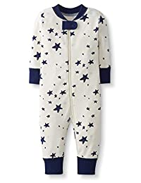 Moon and Back by Hanna Andersson unisex-baby One Piece Footless Pajamas Sleepers
