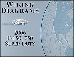 2006 ford f650 f750 medium truck wiring diagram manual original rh amazon com wiring diagram for 2006 f650 ford wiring diagram for 2006 f650 ford