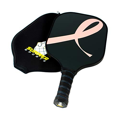 - Summer365 Pickleball Paddle - Ultra Light Limited Edition Breast Cancer Awareness Racquet