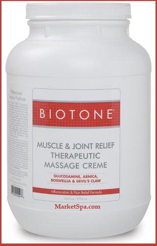 Biotone Muscle mixte de secours Creme, 128 once (1 gallon)
