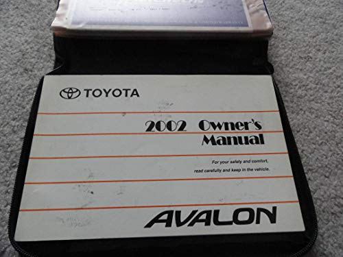 2002 Toyota Avalon Owners Manual - 308 Pages ()