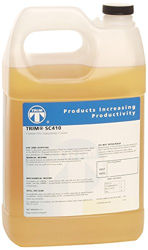 TRIM Cutting & Grinding Fluids SC410/1 Chlorine-Free Semisynthetic Coolant, 1 gal Jug (Cutting Band Fluid Saw)