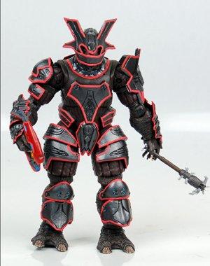 McFarlane Toys Action Figure - Halo Series 8 - Brute Captain in VISR Mode