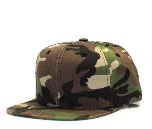City Hunter Cf919 New Twill Cotton Snapback - Camo