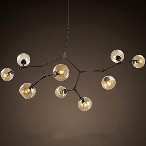 Wei-d Modern Simple Personality Clothing Store Restaurant Living Room Creative Molecules Sticky Magic Beans Art Pendant Light , as picture by WEIWEI