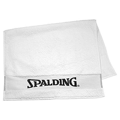 Spalding, Asciugamano da palestra weiß, Bianco (weiß), Taglia unica 300980901