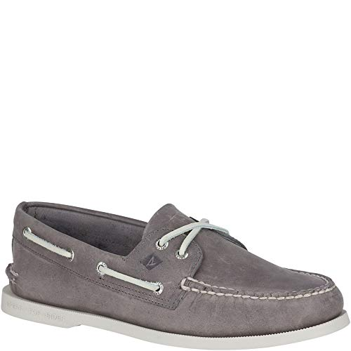 Sperry Men's A/O 2-Eye Richtown Boat Shoe Oxford,Grey,9.5   Medium