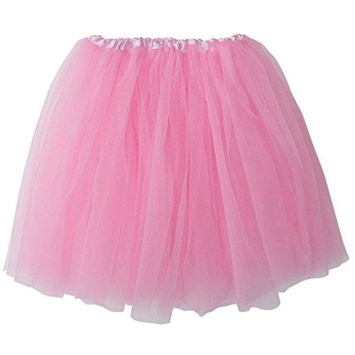 Mens Pink Tutu Adult Costumes (Plus Size Adult - Princess Costume Ballet Warrior Dash/Run - Tutu (Pink))