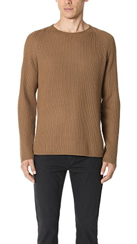 Theory Men's Oversized Sweater, Camel, L