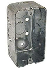 RACO INCORPORATED Steel Drawn Corners Handy Box, Steel, 4-Inch x 2-Inch