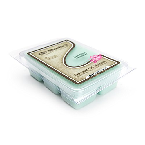 Iced Mint Lavender Wax Melts - Highly Scented - Made With Es