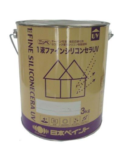日本ペイント 1液ファインシリコンセラUV ND-112 15kg B002QUEICS 3kg|ND-112