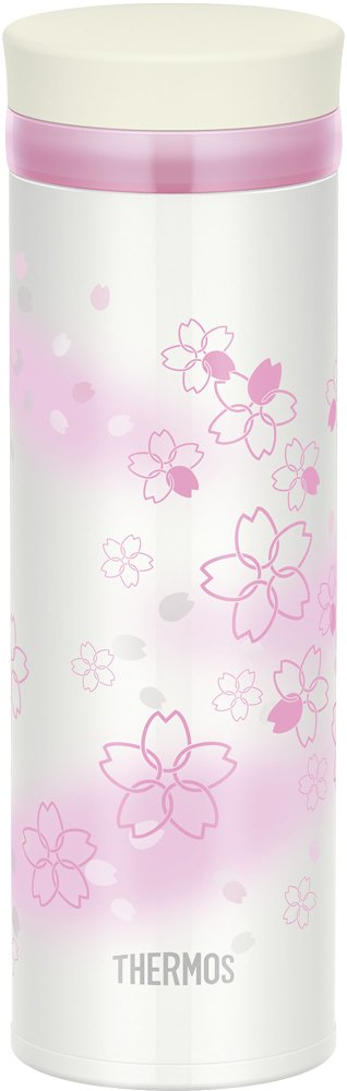 Made in Japan Thermos Flask Vacuum Insulated Carrying Mug 11.8 fl oz Pale Pink JNY-351 USS 0.35 L