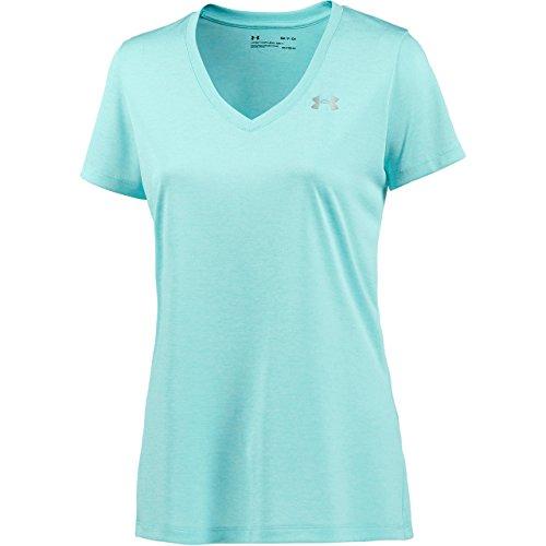 (Under Armour Tech Twist Women's T-Shirt - AW17 - Small - Blue)