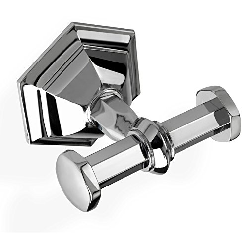 Luxury Wall Mounted Double Bathroom Hook in Multiple Finishes MA13